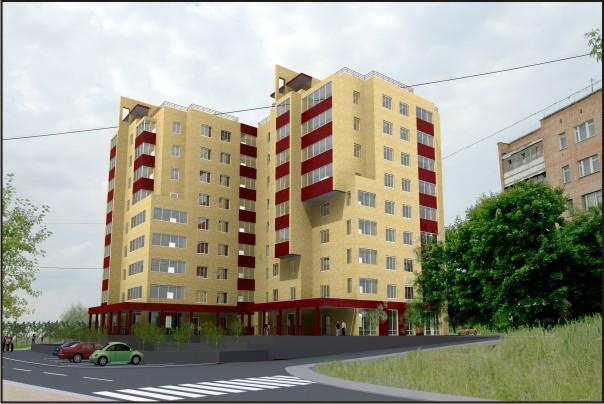 «меридиан» – будет достойным украшением нашего города, поскольку будет первым жилым домом при въезде на правый берег.